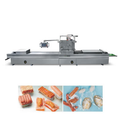 Automatic vacuum blister packing machine