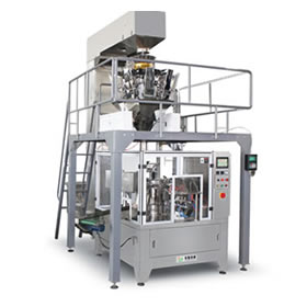 Pre-made bag rotary packing machine