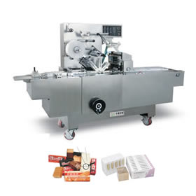 Transparent paper (film) box three - dimensional packaging machine